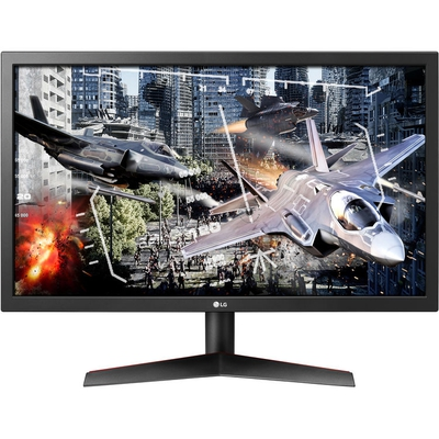 """Adquiere tu Monitor LG 24GL600F, 23.6"""", 1920 x 1080, HDMI, DisplayPort, Audio. en nuestra tienda informática online o revisa más modelos en nuestro catálogo de Monitores LG"""