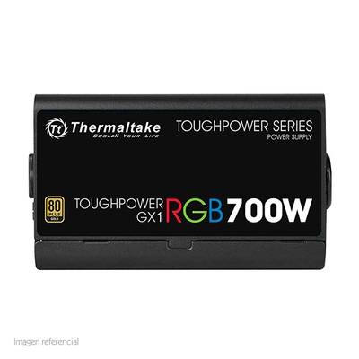Adquiere tu Fuente de poder Thermaltake Toughpower GX1 RGB, 700W, ATX, 80 Plus Gold. en nuestra tienda informática online o revisa más modelos en nuestro catálogo de Fuentes de Poder Thermaltake