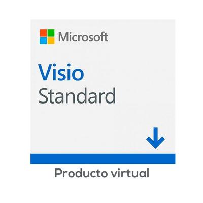 Adquiere tu Microsoft Visio Standard 2019, Licencia Virtual (ESD), 1 PC. en nuestra tienda informática online o revisa más modelos en nuestro catálogo de Microsoft Office Microsoft