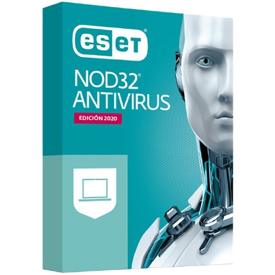 Adquiere tu Antivirus ESET NOD 32 2021, 3 PCs, Licencia Virtual (ESD), 1 año en nuestra tienda informática online o revisa más modelos en nuestro catálogo de Antivirus ESET