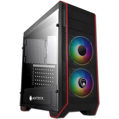 Adquiere tu Case Antryx RX Chrome Storm RX 380 ARGB, USB 3.0, x2 Fan ARGB, Vidrio Templado en nuestra tienda informática online o revisa más modelos en nuestro catálogo de Cases Antryx