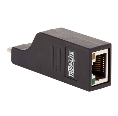Adquiere tu Adaptador de Red Vertical Tripp-Lite U436-000-GB, USB Tipo-C a RJ-45 Ethernet 10/100/1000 en nuestra tienda informática online o revisa más modelos en nuestro catálogo de Adaptadores y Cables TRIPP-LITE