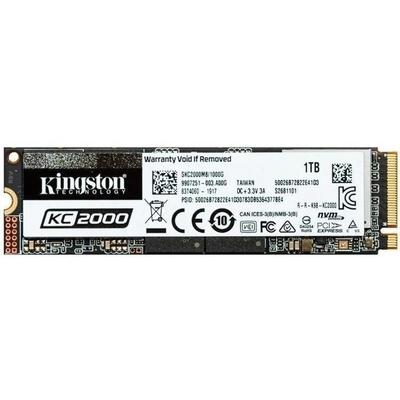 Adquiere tu Disco Duro Sólido Kingston KC2000 SSD, 1TB, M.2, 2280, PCIe NVMe Gen 3.0 x4. en nuestra tienda informática online o revisa más modelos en nuestro catálogo de Discos Sólidos M.2 Kingston