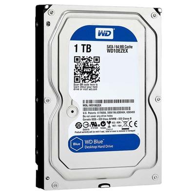 """Adquiere tu Disco duro Western Digital WD10EZEX, capacidad 1TB, SATA 6GB/s, formato 3.5"""". Blue en nuestra tienda informática online o revisa más modelos en nuestro catálogo de Discos Duros 3.5"""" Western Digital"""