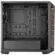 Adquiere tu Case Cooler Master Masterbox MB511 Red Trim, Fuente Elite v3 600W en nuestra tienda informática online o revisa más modelos en nuestro catálogo de Cases Cooler Master