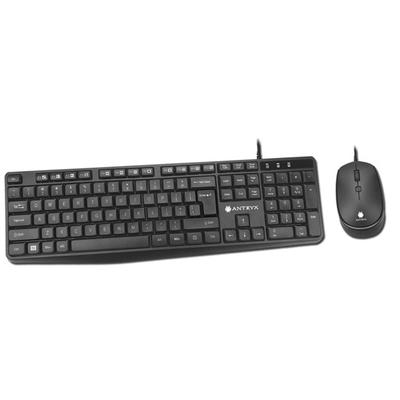 Adquiere tu Kit de Teclado y Mouse Antryx Precision PS950, USB en nuestra tienda informática online o revisa más modelos en nuestro catálogo de Teclados y Mouse Antryx