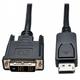 Adquiere tu Cable de DisplayPort a DVI-D, Tripp-Lite P581-006, 1080p, 1.83 mts. en nuestra tienda informática online o revisa más modelos en nuestro catálogo de Cables de Video y Audio TRIPP-LITE