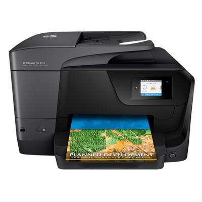 Adquiere tu Impresora Multifuncional de tinta HP OfficeJet Pro 8710, impresión, escaneo, copia, fax, USB, WiFi, Ethernet en nuestra tienda informática online o revisa más modelos en nuestro catálogo de Impresoras Multifuncionales HP