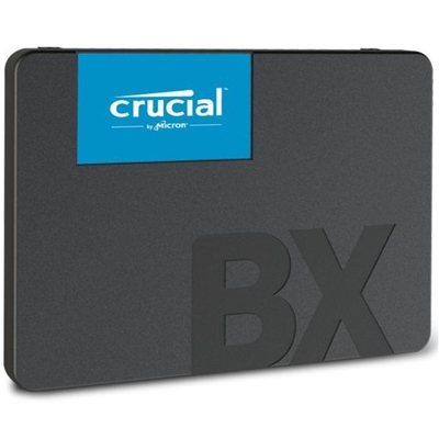 """Adquiere tu Disco Duro Sólido Crucial BX500 SSD, 240GB, SATA 6Gb/s, 2.5"""", 7mm. en nuestra tienda informática online o revisa más modelos en nuestro catálogo de Discos Sólidos 2.5"""" Crucial"""