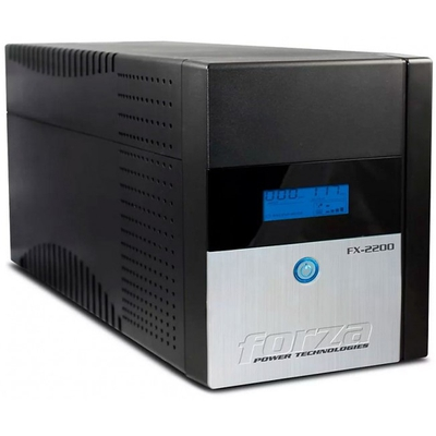 Adquiere tu UPS Forza FX-2200LCD-U, 2200VA, 1200W, 8 tomas de salida en nuestra tienda informática online o revisa más modelos en nuestro catálogo de UPS Interactivo Forza