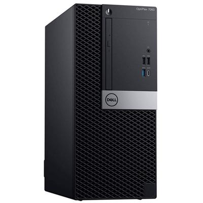Adquiere tu Computadora DELL Optiplex 7060 Mini Tower, Intel Core i7-8700 3.20 GHz, 4GB DDR4, 2TB SATA. Windows 10 Pro en nuestra tienda informática online o revisa más modelos en nuestro catálogo de PC de Escritorio Dell