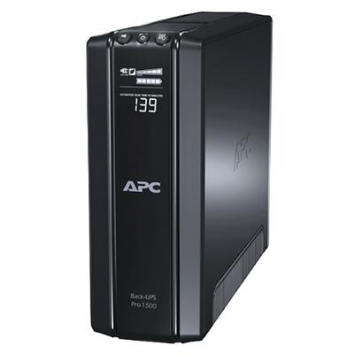 Adquiere tu UPS APC Power-Saving Back Pro 1500, Interactivo, 1500VA, 865W, 230v en nuestra tienda informática online o revisa más modelos en nuestro catálogo de UPS Interactivo APC