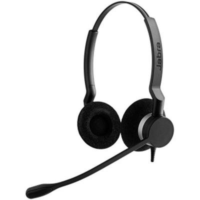 Adquiere tu Audífonos con Micrófono Jabra Biz 2300, Alámbrico, QD, Negro / Plata en nuestra tienda informática online o revisa más modelos en nuestro catálogo de Auriculares y Headsets Otras Marcas