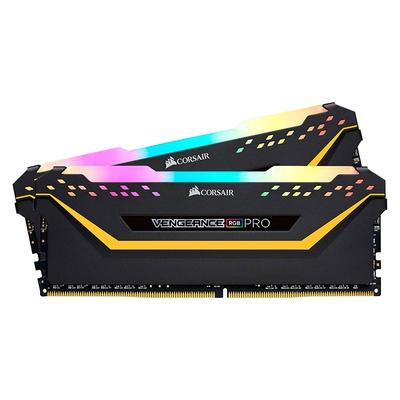 Adquiere tu Kit de Memorias Corsair Vengeance RGB Pro TUF 16GB (2 x 8GB), DDR4, 3200 MHz, PC4-25600, 1.35V en nuestra tienda informática online o revisa más modelos en nuestro catálogo de DIMM DDR4 Corsair