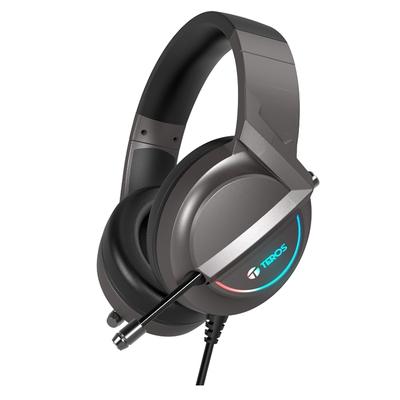 Adquiere tu Audífonos con Micrófono Teros TE-8152N, Sonido 7.1, micrófono, USB, Luces RGB en nuestra tienda informática online o revisa más modelos en nuestro catálogo de Auriculares y Headsets Teros