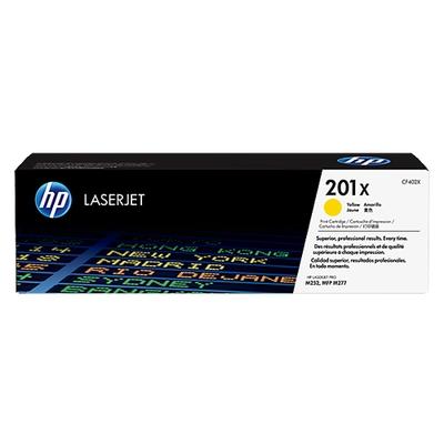 Adquiere tu Toner HP 201X, LaserJet M252, M277, amarillo (2.3K) en nuestra tienda informática online o revisa más modelos en nuestro catálogo de Toners HP