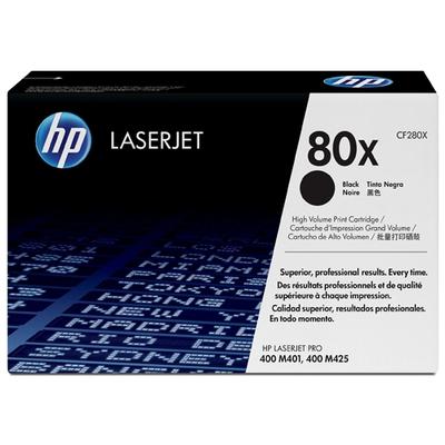 Adquiere tu Toner HP 80X, LaserJet M401DN, M425, negro (6,9 K) en nuestra tienda informática online o revisa más modelos en nuestro catálogo de Toners HP