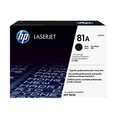 Adquiere tu Toner HP 81A, LaserJet M630z, M360f, M630dn, negro (10,5K) en nuestra tienda informática online o revisa más modelos en nuestro catálogo de Toners HP