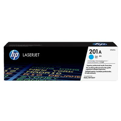 Adquiere tu Toner HP 201A, Laserjet MFP M277dw, M252n, M252dw, Cyan (1.4K) en nuestra tienda informática online o revisa más modelos en nuestro catálogo de Toners HP